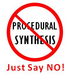 Is procedural synthesis just a mirage?
