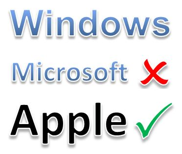 It's official: Apple has windows, Microsoft doesn't