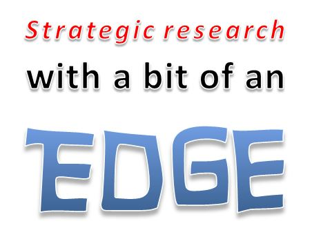 Stodgy, predictable, strategic research? It doesn't need to be